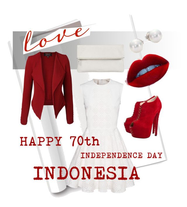 """""""HAPPY INDEPENDENCE DAY INDONESIA #70th"""" by devinta-dwi-wahyuningtyas on Polyvore"""