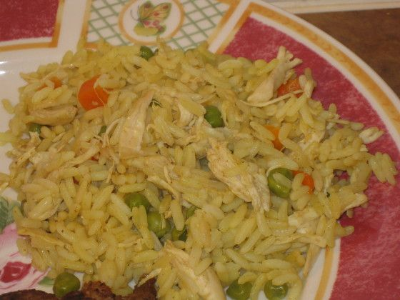 Central American Yellow Rice And Chicken Recipe - Food.com
