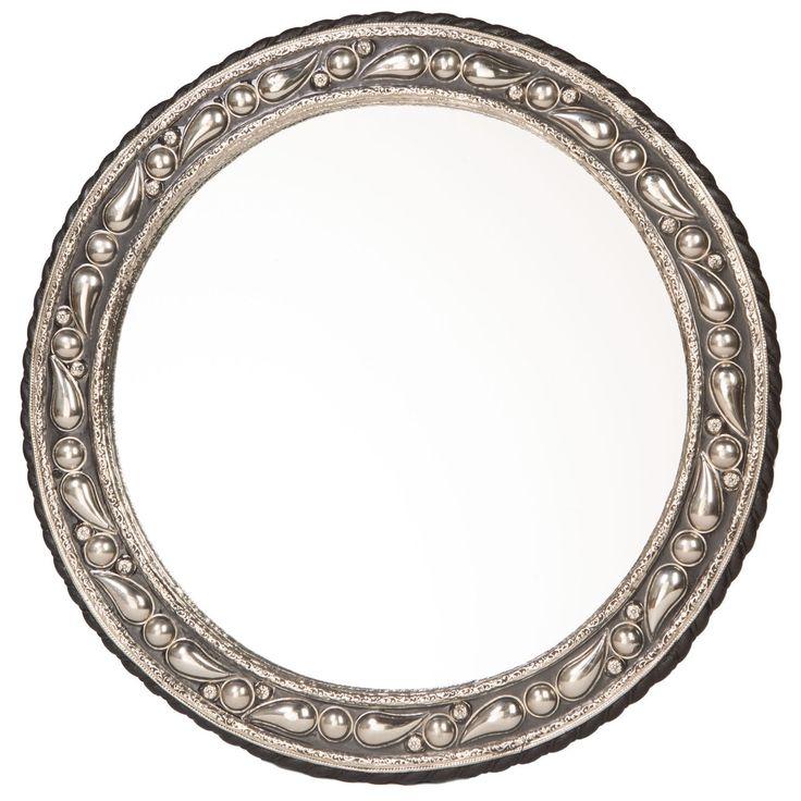20-inch Round Mediterranean Mirror  , Handmade in Morocco  | Overstock.com Shopping - The Best Deals on Mirrors