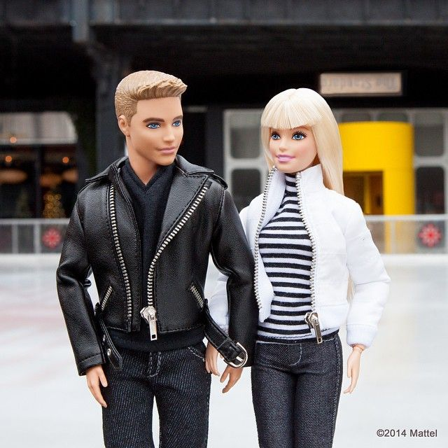 """""""Hitting the ice skating rink at @thestandard, love having someone here to catch me if I fall! #barbie #barbiestyle"""""""