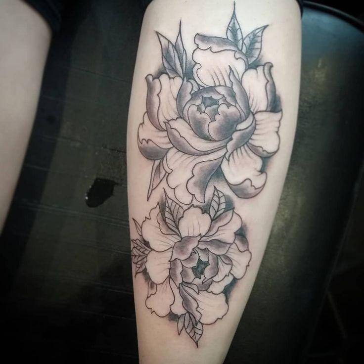 Einige wirklich nette Pfingstrosen auf mir altes China #tattoo #tattoos #tattoosofinstagram …