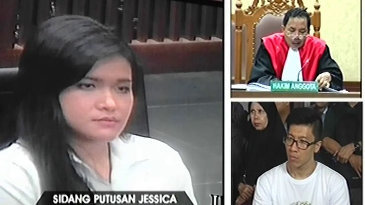 VONIS Jessica Kumala Wongso - Keputusan Sidang Vonis Jessica Diganjar 20...