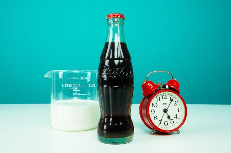 コーラと牛乳を混ぜたら透明に!?自由研究にお困りの方どうぞ!