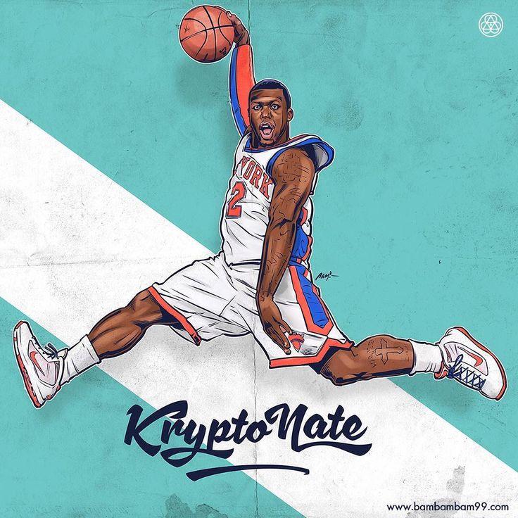 Nate Robinson KryptoNate Illustration