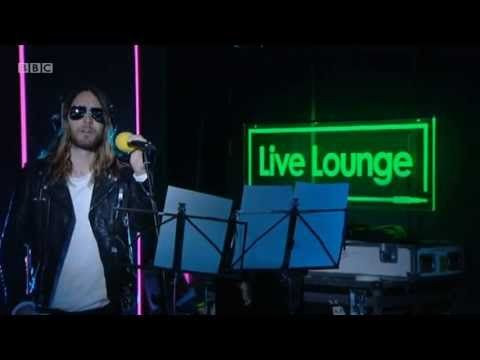 ▶ 30 Seconds To Mars - Stay ( Rihanna's song cover ) Live @ BBC Radio 1 Live Lounge 17.09.2013 - YouTube