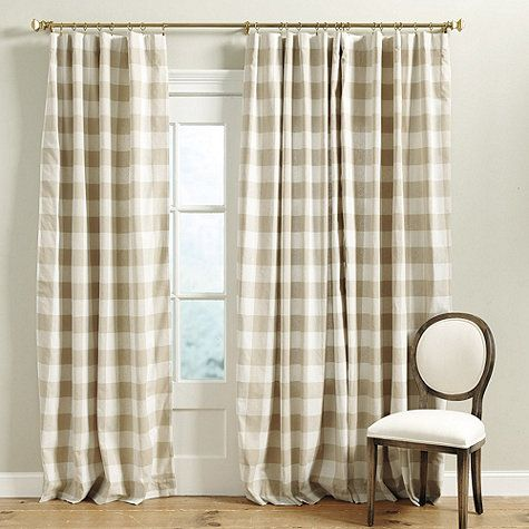 Red And Tan Buffalo Check Curtains Curtain Menzilperde Net