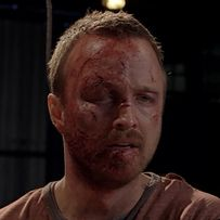 """Only half of Jesse's face had been damaged. We've definitely seen that before.   16 Amazing Details You Might Have Missed In The Final Season Of """"Breaking Bad"""""""