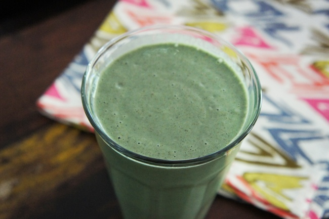 This Superpower Green Smoothie is an amazing gluten free breakfast or ...