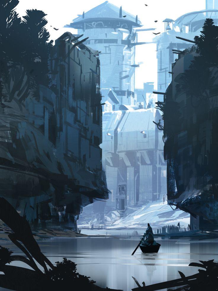 Castle Walls, sparth . on ArtStation at https://www.artstation.com/artwork/LkXg0
