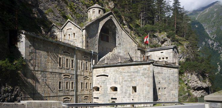 Tyrolská pevnost Nauders | Cesty na motorce