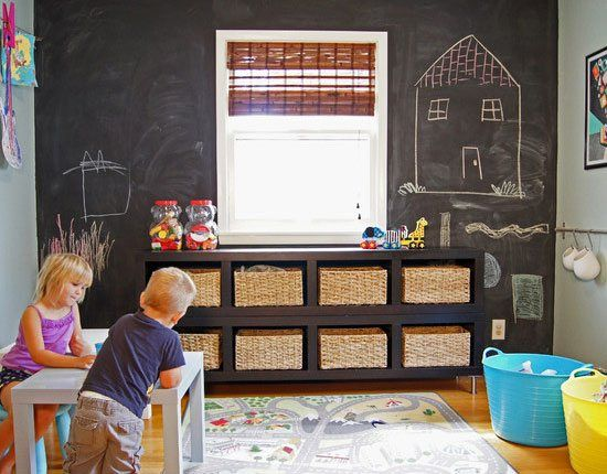 Endless Hours of Fun in a Playroom | Click Pic for 21 DIY Chalkboard Paint Ideas | Easy Decorating Ideas for The Home