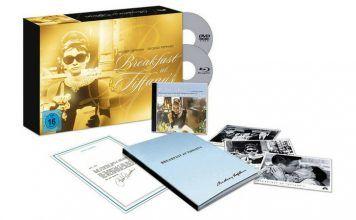 [Angebot]  Frühstück bei Tiffany  50th Anniversary Boxset (Blu-ray) für 2499