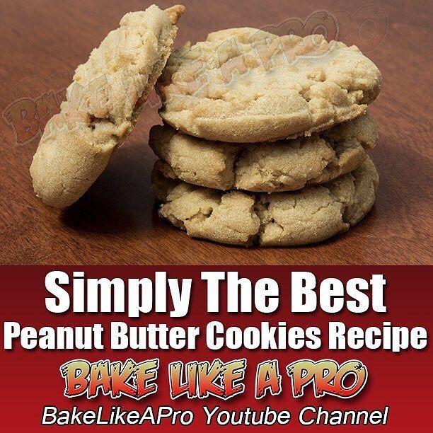 Simply The Best Peanut Butter Cookies Recipe by BakeLikeAPro https://youtu.be/2vxUSLhmlEM  @YouTube #recipe #food #cookies #instapic #instafood #instagood #instagram #instadaily @best.today