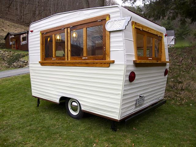 Best Trailers For Here And There Images On Pinterest Car - Old shabby trailer gets one hell makeover