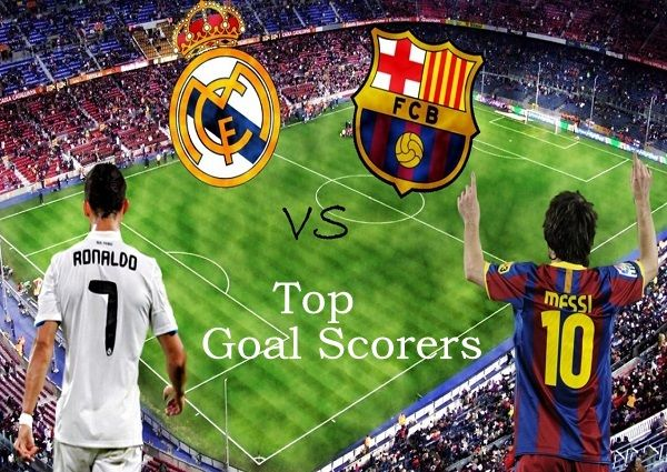 Want to know who scored the most goals in El Clasico Real Madrid vs FC Barcelona match? Then find list of top 10 goal scorers in Barca vs Madrid contest.