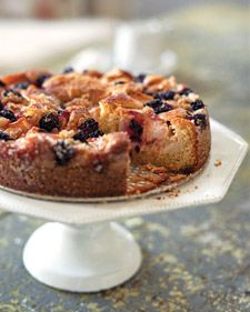 Apple-Blackberry Cake - Martha Stewart Recipes