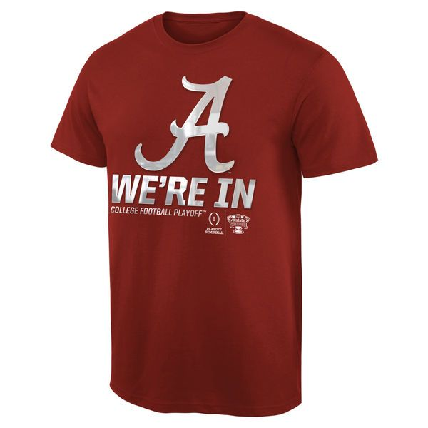 Alabama Crimson Tide 2015 College Football Playoff Sugar Bowl Bound Were In T-Shirt - Crimson - $10.99