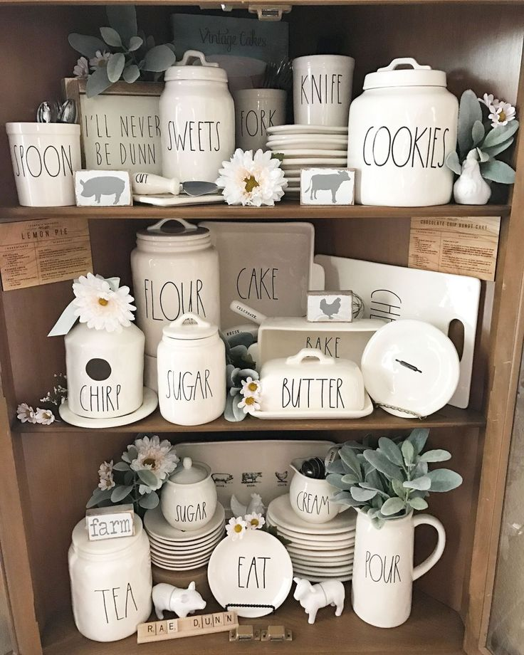 6 Ideas On How To Display Your Home Accessories: 39 Best Rae Dunn Display Ideas Images On Pinterest