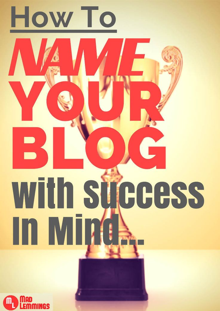 How To Find The Perfect Blog Name Ideas A Killer Guide