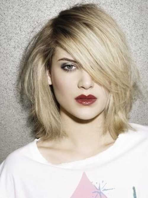 15 Good Layered Bob with Side Bangs | Bob Hairstyles 2015 - Short Hairstyles for Women