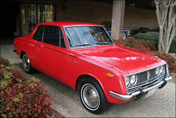 "and-the-distance: "" 1969 Toyota Corolla "" Corona."
