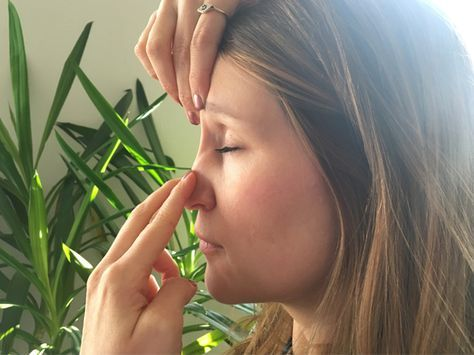 In dieser Jahreszeit sind wir ja alle ständig erkältet. Aber so wird deine verstopfte Nase innerhalb von einer Minute frei. Erkältet sein