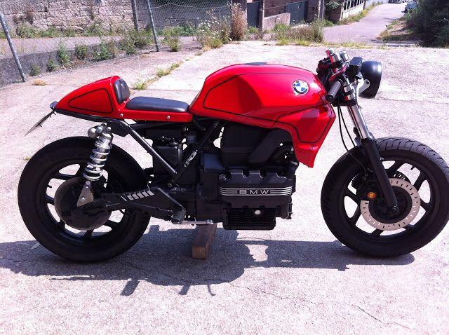 bmw k75 cafe racer by tarmac custom motorcyle spain. Black Bedroom Furniture Sets. Home Design Ideas
