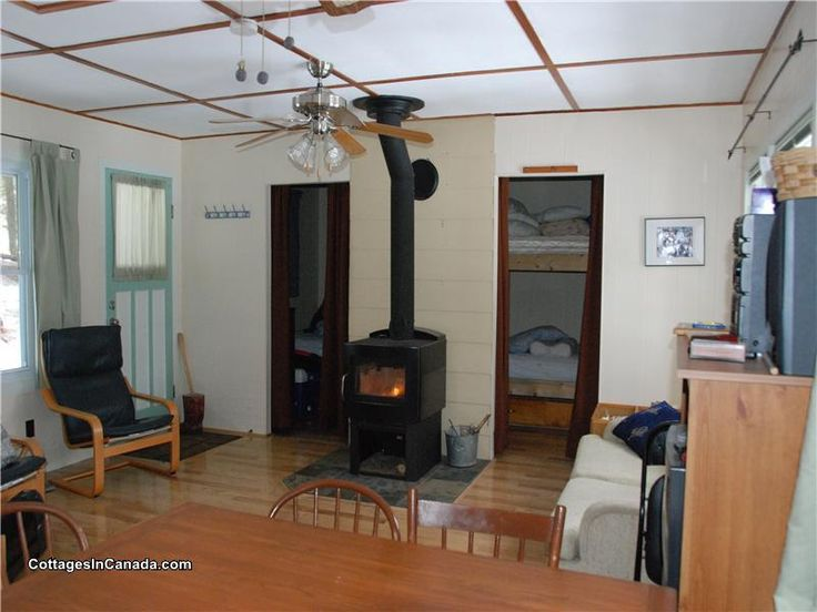 GL-10945: COTTAGE AVAILABLE ALL YEAR ROUND !!!! 1.3 acres Nestled into the woods and over looking a pristine lake. Our Cottage is perfect for your get away. Come and  ...