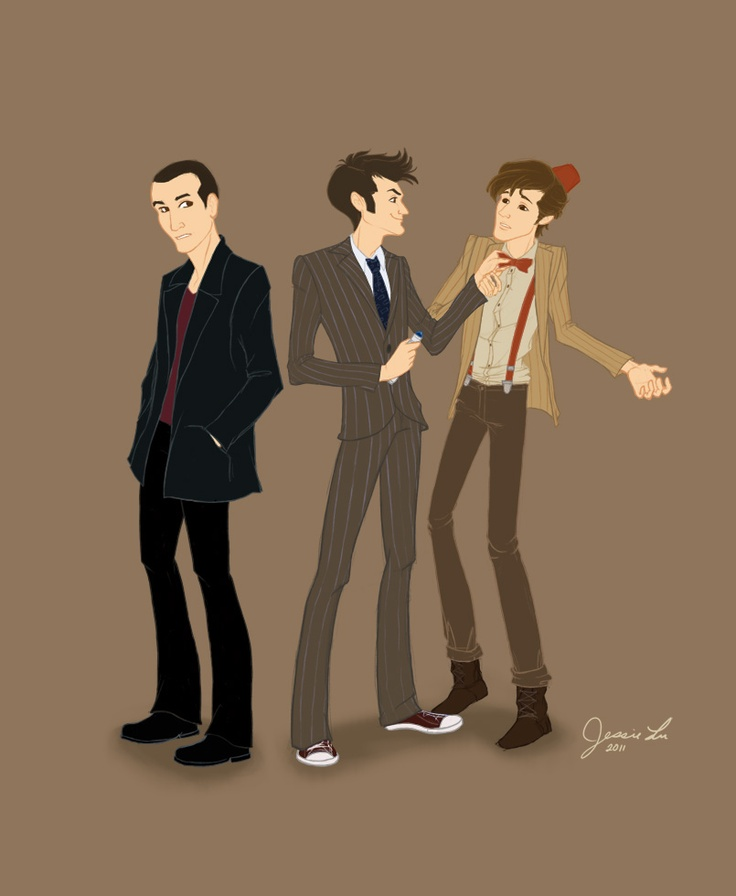 9th 10th 11th doctor meet fanfic