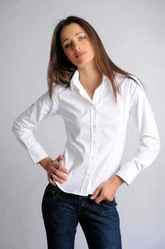 Patrón gratis: blusa básica, manga larga (tallas S-M-L-XL)