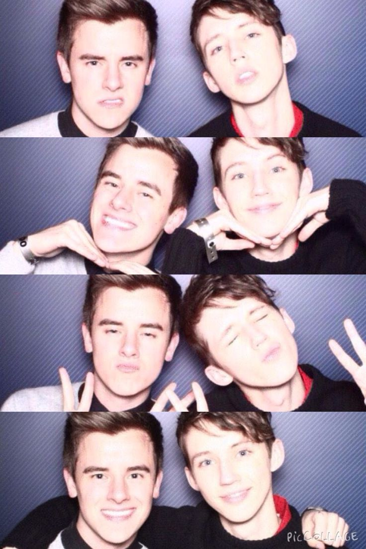 troye and connor at playlist tri-state