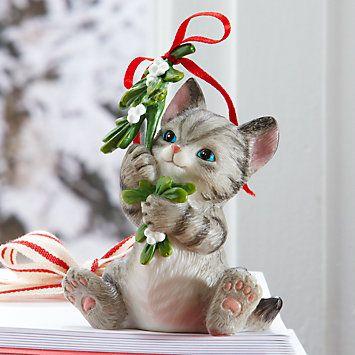 Cats Eating Mistletoe