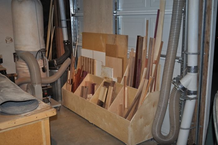 Scrap Lumber Storage Solutions Woodworking Projects Amp Plans