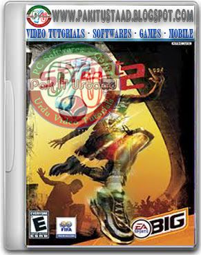 FIFA Street 2 PC Game Cover