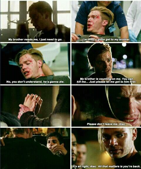 """Jace in 2x03 """"Parabatai Lost"""""""