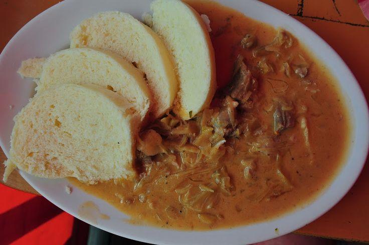 Merlin and Rebecca: Slovak Food