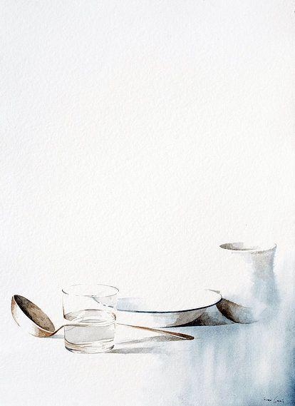 Blanco | Nono Garcia acuarela/papel watercolour/paper