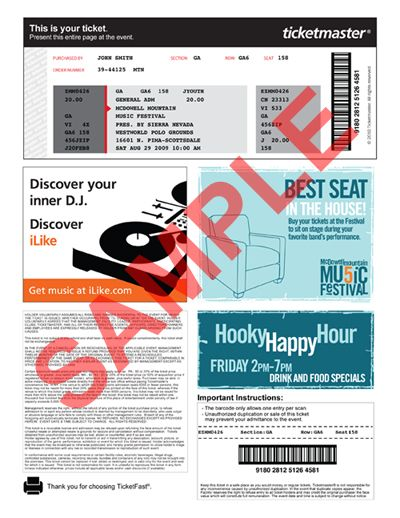 37 best Tickets images on Pinterest Ticket, At home and Culture - make your own concert tickets
