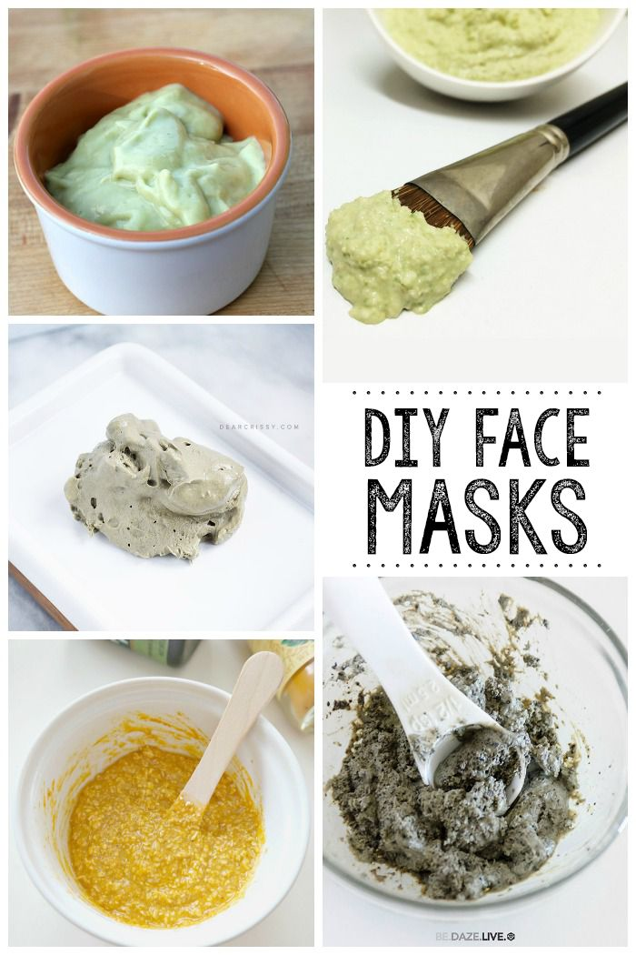 Make your own DIY face masks from stuff sitting in your kitchen.