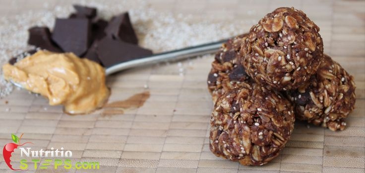 No Bake Healthy Energy Packed Chia Chocolate Peanut Butter Bites