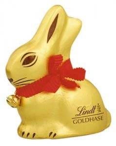 Eastern Gold Bunny by Lindt - Swiss Chocolate Online Shop - Swiss Grocery Store
