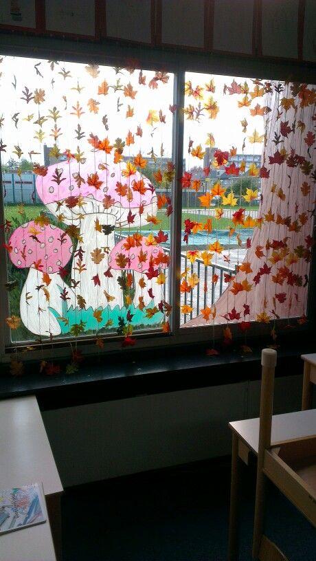 Inkleding van je klas in thema herfst