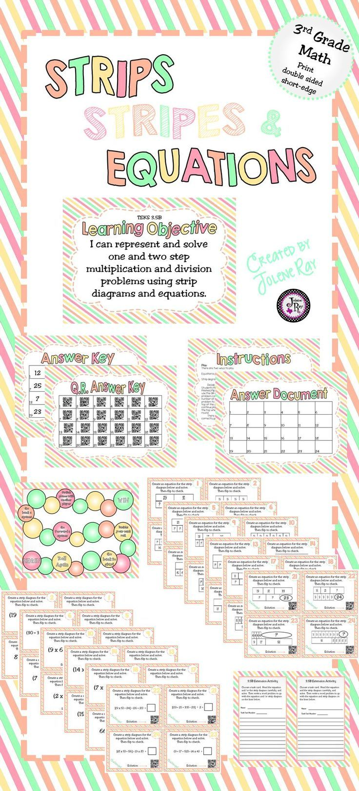 100+ ideas to try about tpt treasures for texas teachers ... strip diagram 4th grade multi step math wiring diagram for msd 2 step