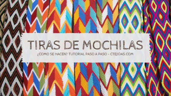 Tutorial #128: Tiras, Fajones o Asas de Mochilas Wayúu #ctejidas http://blgs.co/NW4c4a