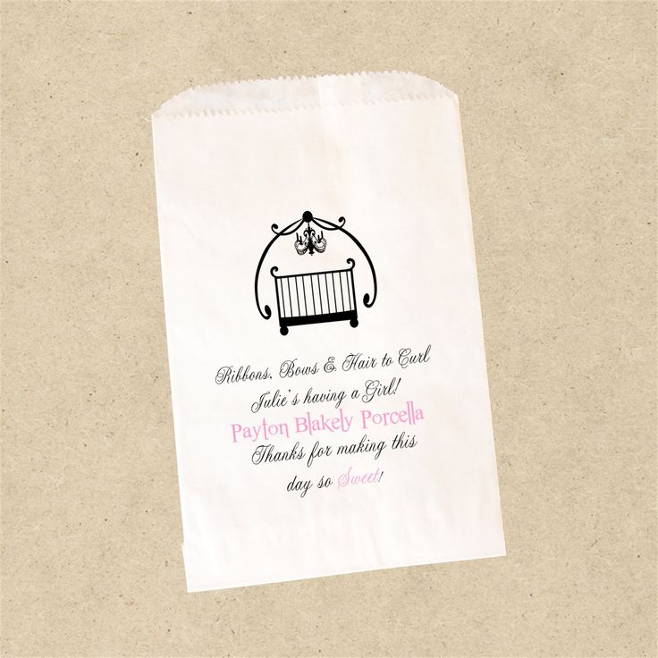 Add a poem or short message to your lolly bags for that personal touch.