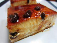 Apple & Bread Pudding - Uno de los postres que más nos gustan: pudin de pan con manzanas.
