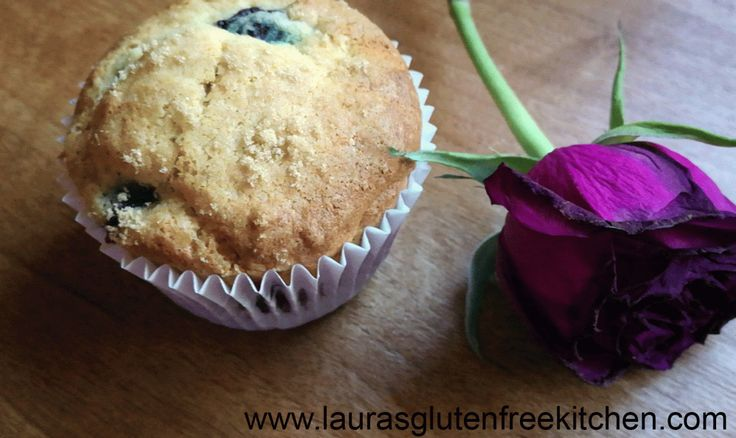 Gluten Free Banana blueberry muffins ---- They are so are soft and fluffy, and filled with bursting delicious summer blueberries. I may just have to go make some more.