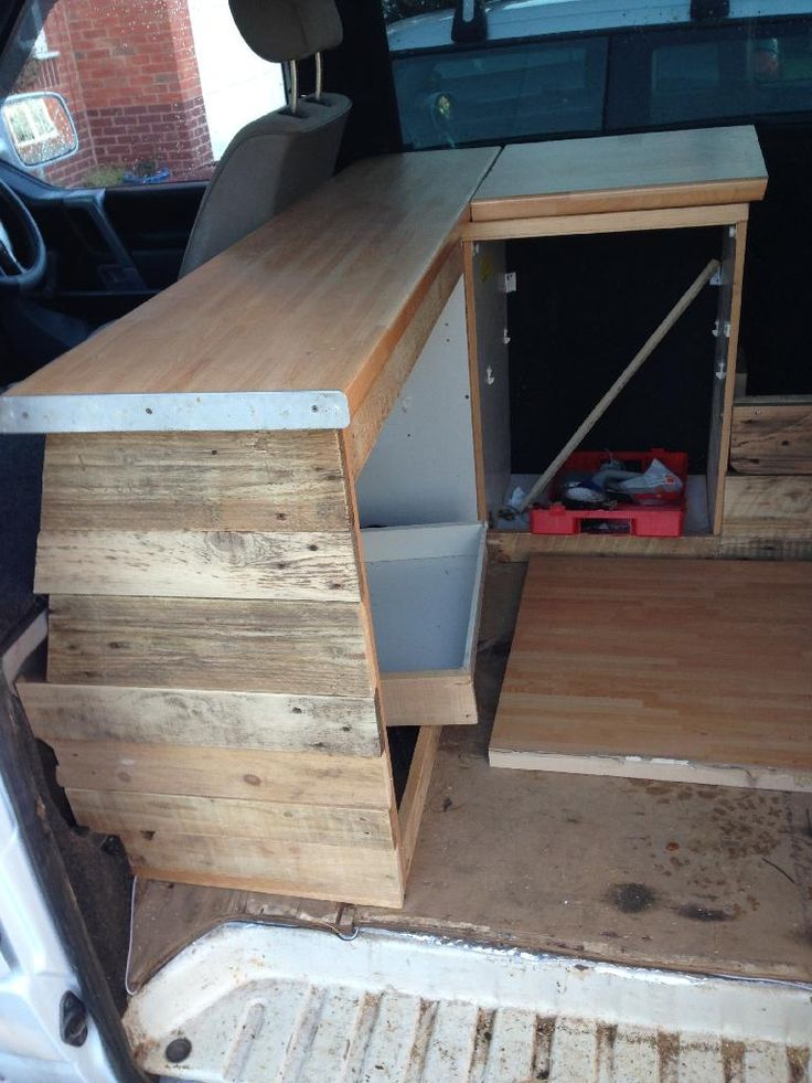 Wooden interior build page 3 vw t4 forum vw t5 for Vw t4 interior designs