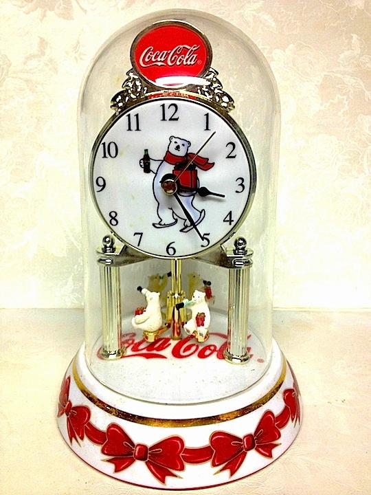 Coca-Cola 2002 Polar Bear Anniversary Clock