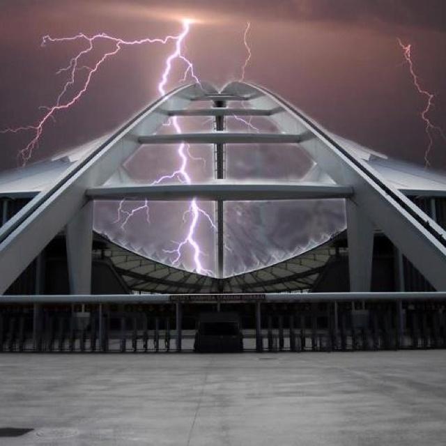 A little bit of lightning
